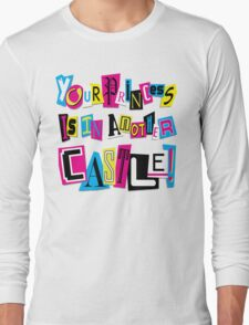 PRINCESS RANSOM NOTE Long Sleeve T-Shirt