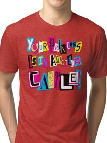 PRINCESS RANSOM NOTE Tri-blend T-Shirt