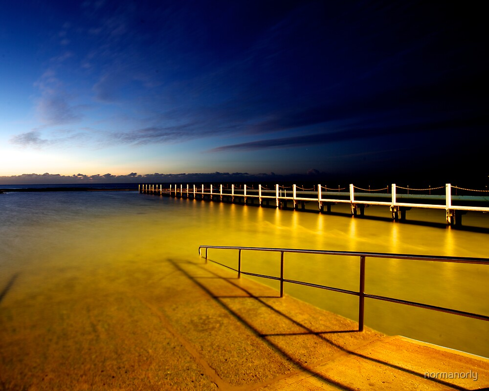 NORTH NARRABEEN ROCK POOL by normanorly