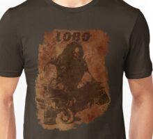 Lobo Silhouette (w/ Grunge Backround) Unisex T-Shirt