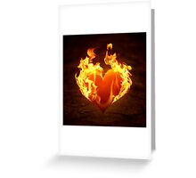 Burn for you. Greeting Card