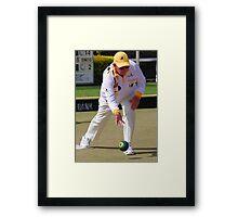 M.B.A. Bowler no. a400 Framed Print