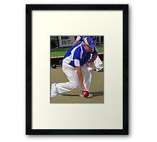 M.B.A. Bowler no. a433 Framed Print