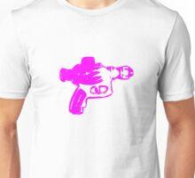 Alien Ray Gun - Pink Unisex T-Shirt