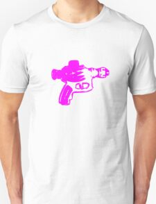 Alien Ray Gun - Pink T-Shirt