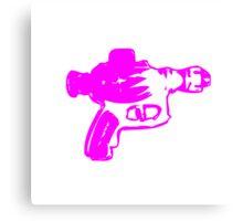 Alien Ray Gun - Pink Canvas Print
