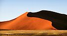 Red Sculptural Dune, Namibia by Carole-Anne