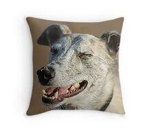 Wilfred Has The Last Laugh Throw Pillow