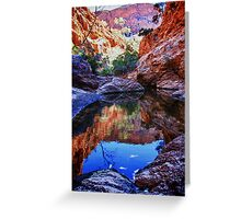 Waterhole reflections Greeting Card