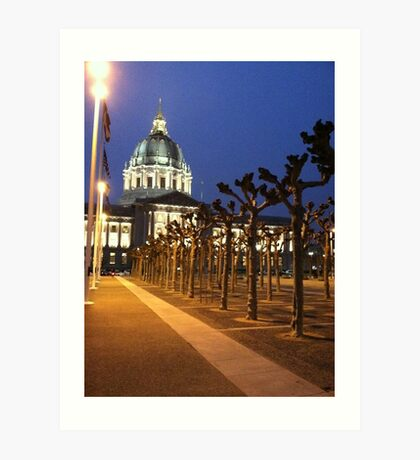 San Francisco City Hall Art Print