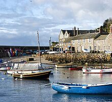 Early Morning At Mousehole, Cornwall by lynn carter