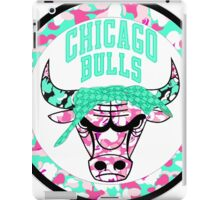 BULLS WHITE iPad Case/Skin