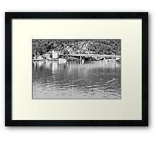 Tamar River Launceston Tasmania Framed Print