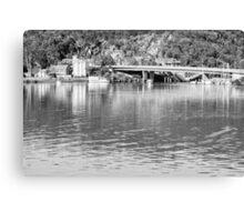 Tamar River Launceston Tasmania Canvas Print