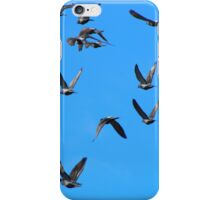 "Genesis 1:20  And God said, ""Let the waters swarm with swarms of living creatures, and let birds fly above the earth across the expanse of the heavens."" iPhone Case/Skin"