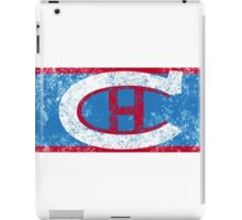 Habs 1924 Retro (distressed) iPad Case/Skin