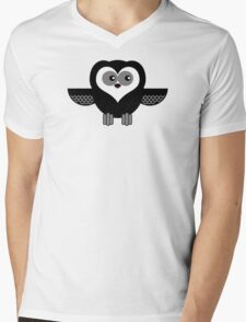 OWL 1 Mens V-Neck T-Shirt