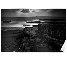 Stepping Stones of the Gods (B/W) Poster