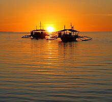Golden Sunset   - Philipinnes by suellewellyn