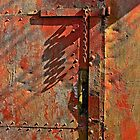 Rusty hinge by Eyecatch