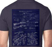 303  Lee Enfield Rifle Blueprint T shirt Unisex T-Shirt