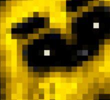 Five Nights at Freddy's 1 - Pixel art - Golden Freddy 2 Sticker