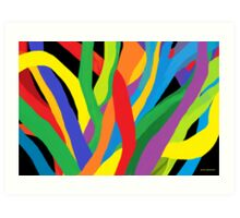 Soft Vibrancy Art Print