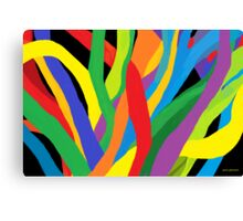 Soft Vibrancy Canvas Print