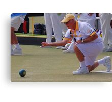 M.B.A. Bowler no. b020 Canvas Print