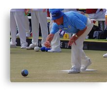M.B.A. Bowler no. b031 Canvas Print