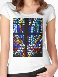 Loma Rica Community Church Women's Fitted Scoop T-Shirt