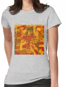 0481 Abstract Thought Womens Fitted T-Shirt
