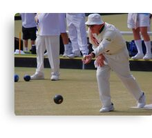 M.B.A. Bowler no. b062 Canvas Print