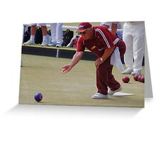 M.B.A. Bowler no. b074 Greeting Card