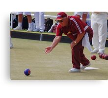 M.B.A. Bowler no. b074 Canvas Print