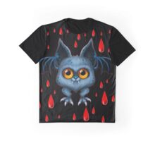 Halloween Bat Graphic T-Shirt