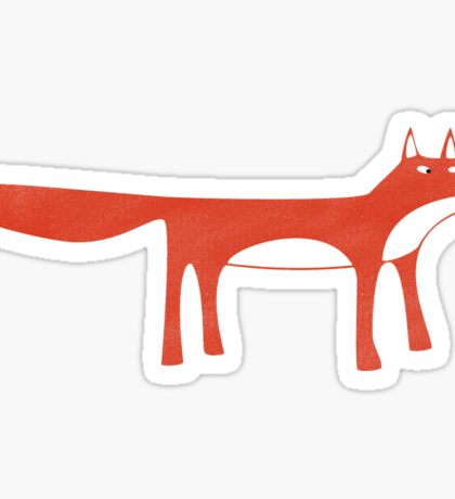 Mr. Fox Sticker