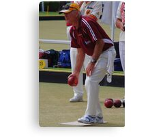M.B.A. Bowler no. b112 Canvas Print