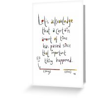 Generic Anniversary/Birthday card.  Greeting Card