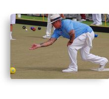 M.B.A. Bowler no. b169 Canvas Print