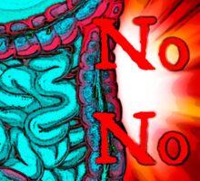 No guts, No glory  Sticker