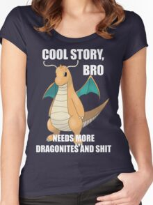 Cool Story, Bro Women's Fitted Scoop T-Shirt