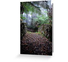 Valder Bridge - Mt Wilson NSW Australia Greeting Card