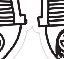 The JDM intercooler couple Sticker