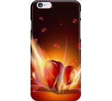 Romantic Burning Hearts  iPhone 5 Case / iPhone 4 Case  iPhone Case/Skin