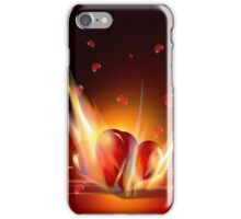 Romantic Burning Hearts  iPhone 5 Case / iPhone 4 Case  iPhone Case/Skin