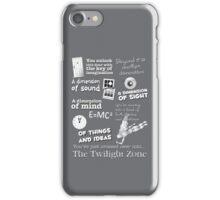 The Twilight Zone iPhone Case/Skin
