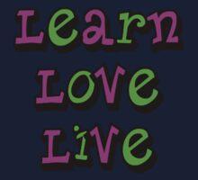 Learn Love Live One Piece - Short Sleeve