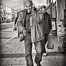 """""""I'm on the phone"""" - street photography by DARREL NEAVES"""