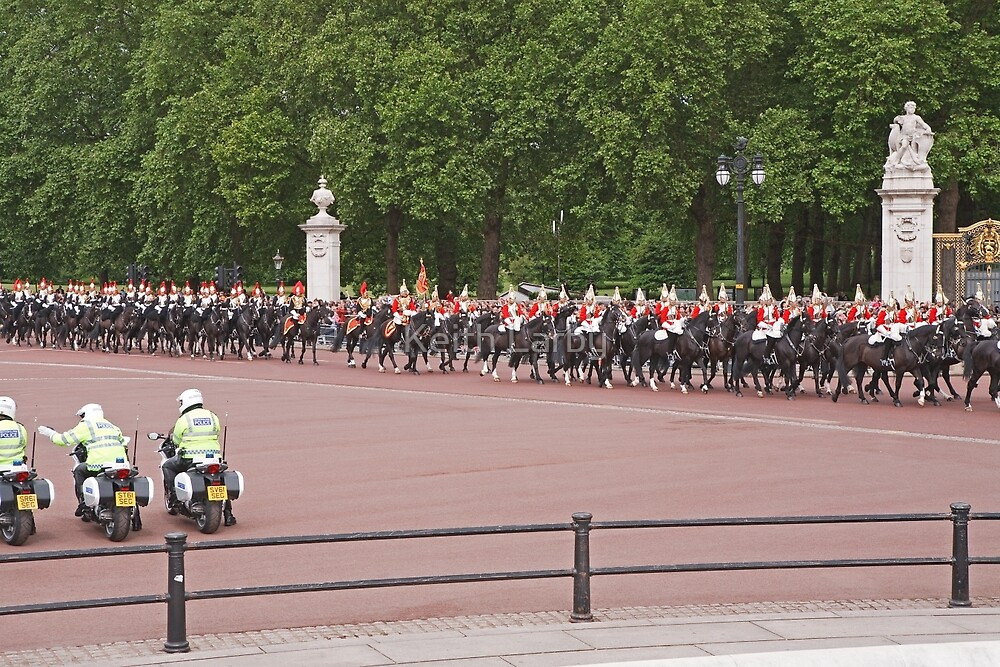 Trooping The Colour by Keith Larby